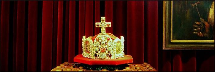 Replik der Reichskrone, Große Bleiche