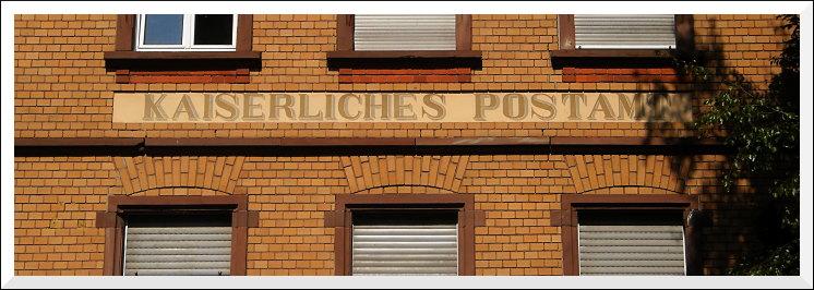 Laubenheim, Rheinstraße - ehemaliges Postamt