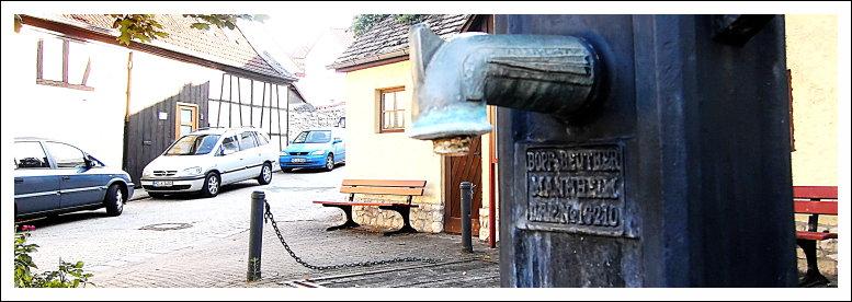 Patentventilbrunnen, Gaubischofsheim
