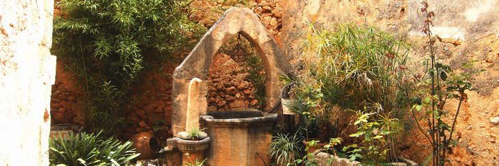 Brunnen im  Estudi Vidal, Campos