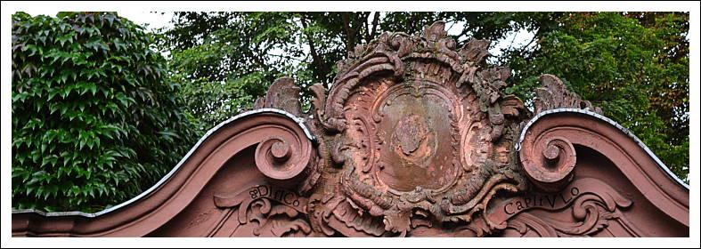 Rokoko-Portal bei der Ignazkirche