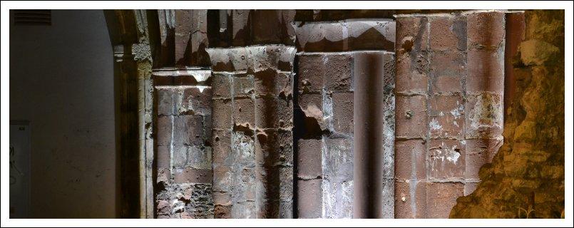 Das Bild zeigt die Ruinen der Christuskirche